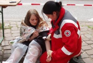 Versorgung von Verletzten nach einem Zugunglück, 45. Bundeswettb